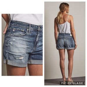 AG The Hailey Ex-Boyfriend Roll-Up Short
